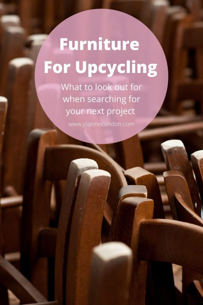 Furniture for upcycling